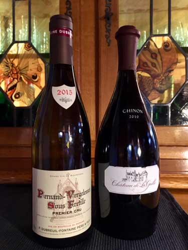 Wine French wine