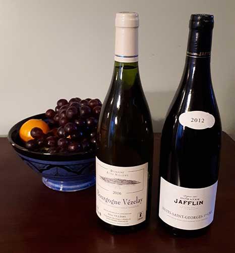 Fine Burgundy Wine